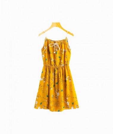 Yellow Cami Dress
